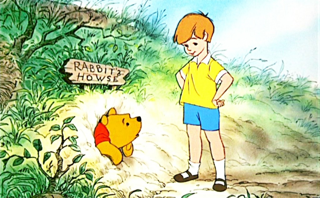 Winnie the pooh y christopher