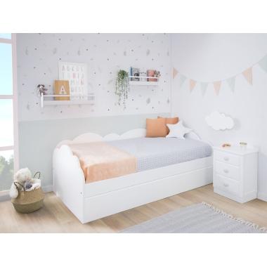 Dormitorio infantil Nido Nube