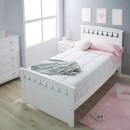Habitación infantil Corazón detalle cama