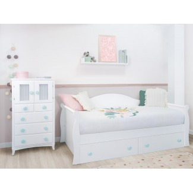 Dormitorio Infantil Góndola cajones.