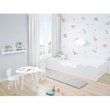 Dormitorio infantil Montessori Nube