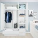 Dormitorio Juvenil. Compacto Lineal 8 cajones