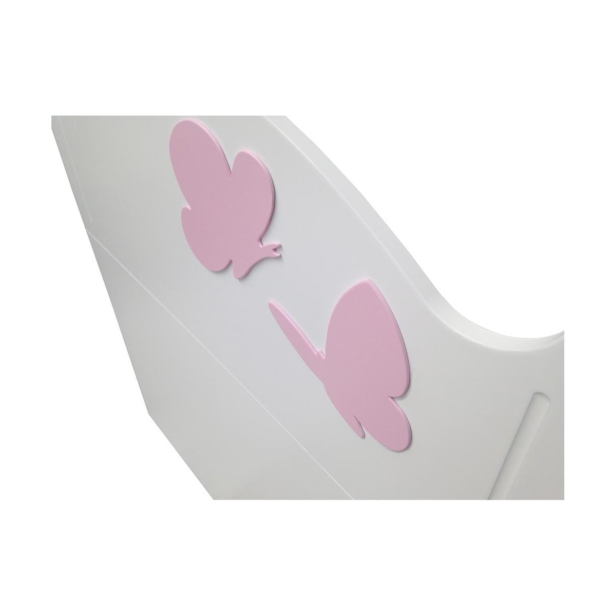 t te de lit infantile anastasia avec papillons. Black Bedroom Furniture Sets. Home Design Ideas