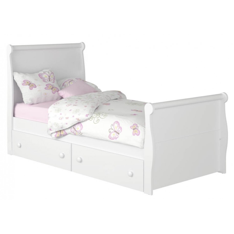 Children's bed with drawers Diana