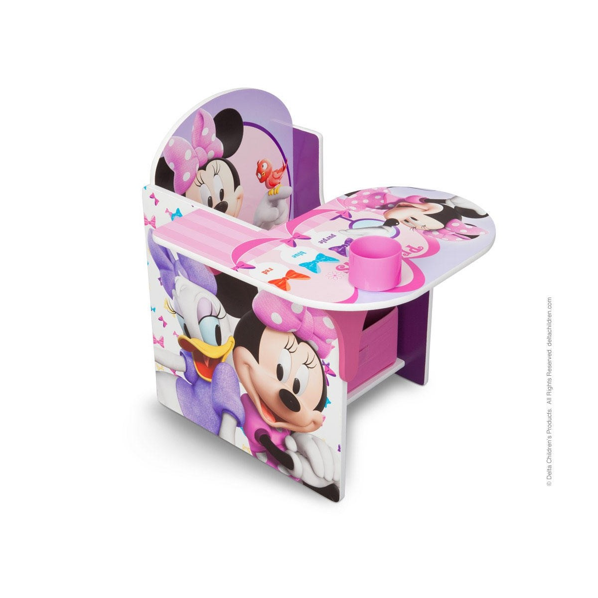 Silla escritorio minnie mouse disney env o 24h gratis for Muebles disney
