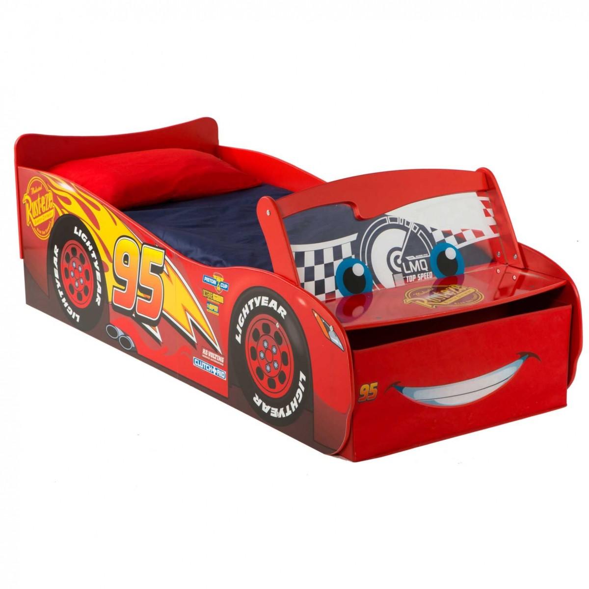 Cama coche cars disney con luz env o 24h gratis - Cama coche infantil ...