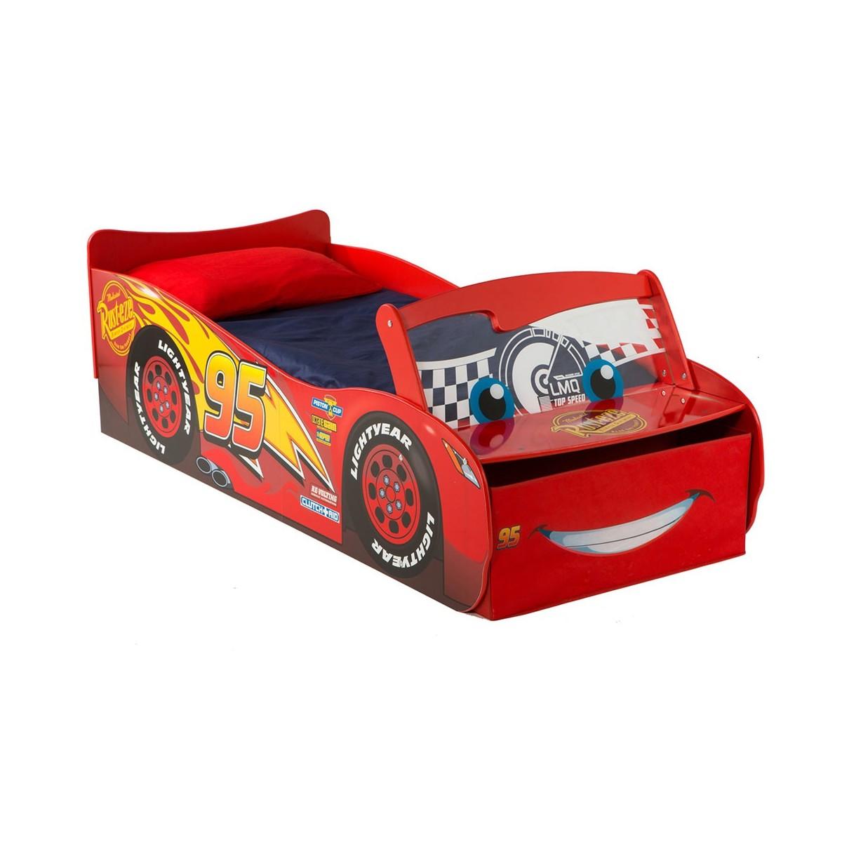 Cama Coche Cars Disney Con Luz
