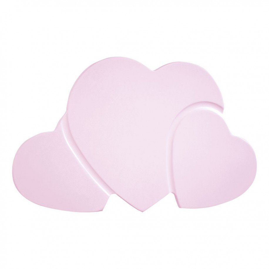 Lampara de pared infantil corazones env o 24h gratis for Lamparas pared infantiles