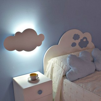Lámpara de pared infantil Nube