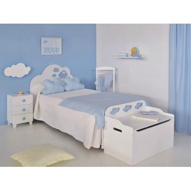 Les nuages de chambre d'enfant