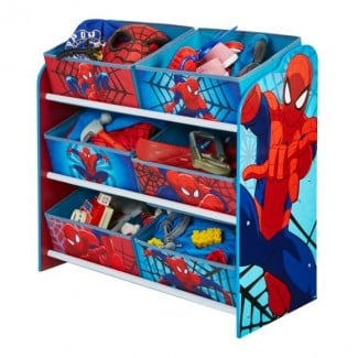 Spiderman 6 bin storage