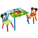 Mickey Table + 2 chairs