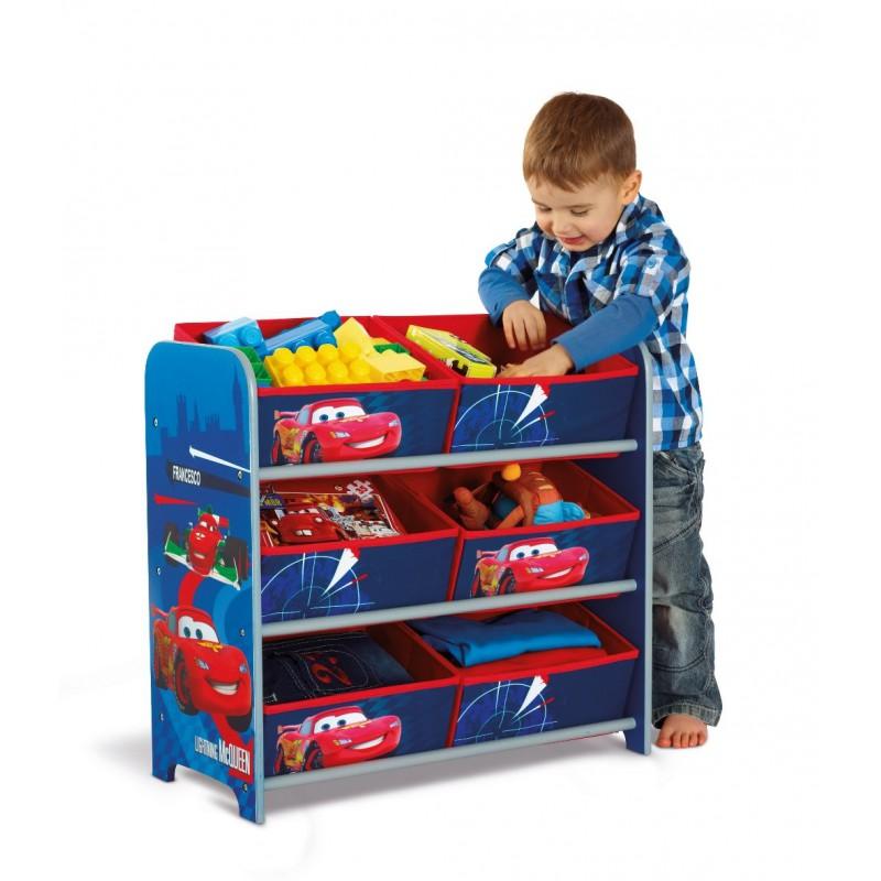 Organizador de juguetes madera cars disney env o 24h gratis - Cars en juguetes ...