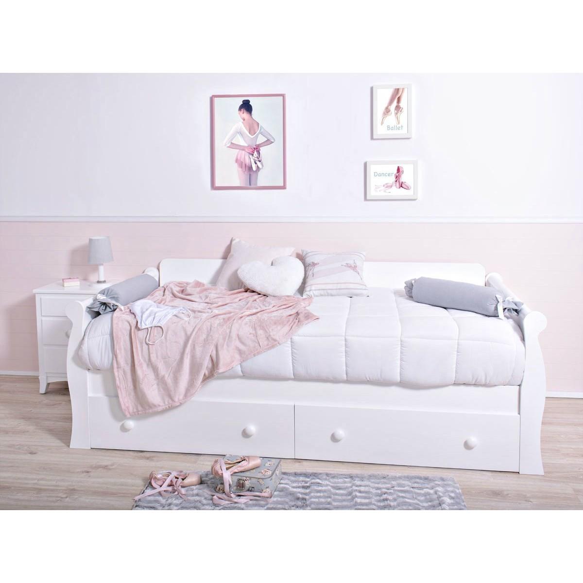 Cama infantil gondola con cajones env o 24h gratis for Cama con cajones precio