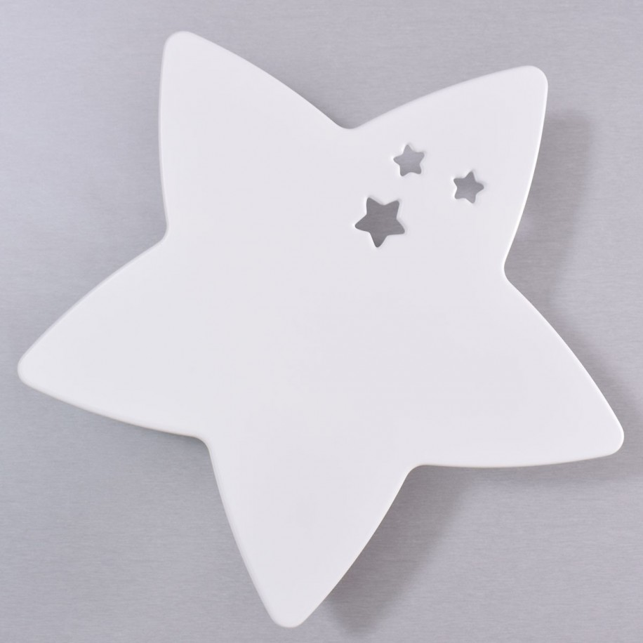 Lampara de pared infantil Star