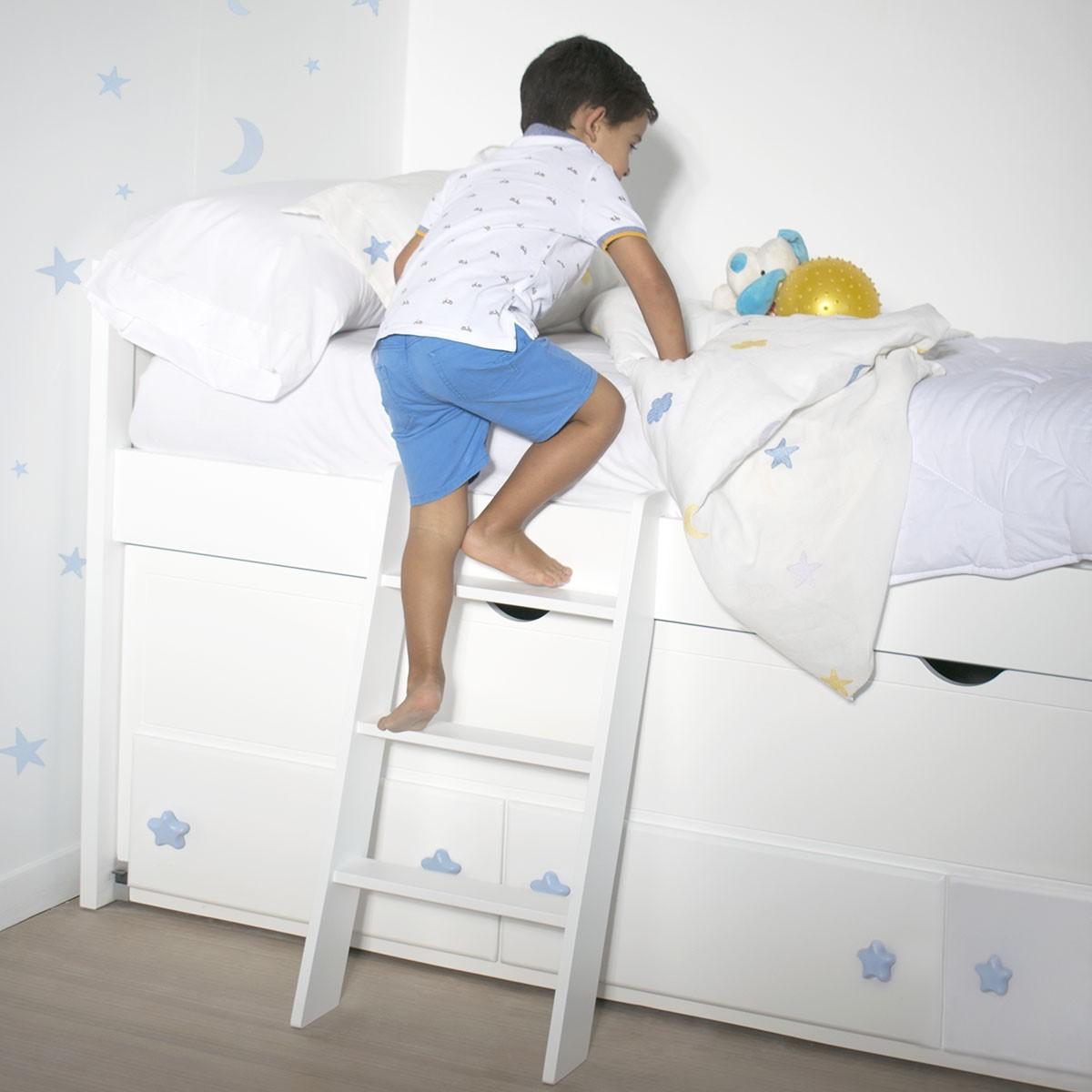 Escalera infantil para camas - Escaleras para camas nido ...