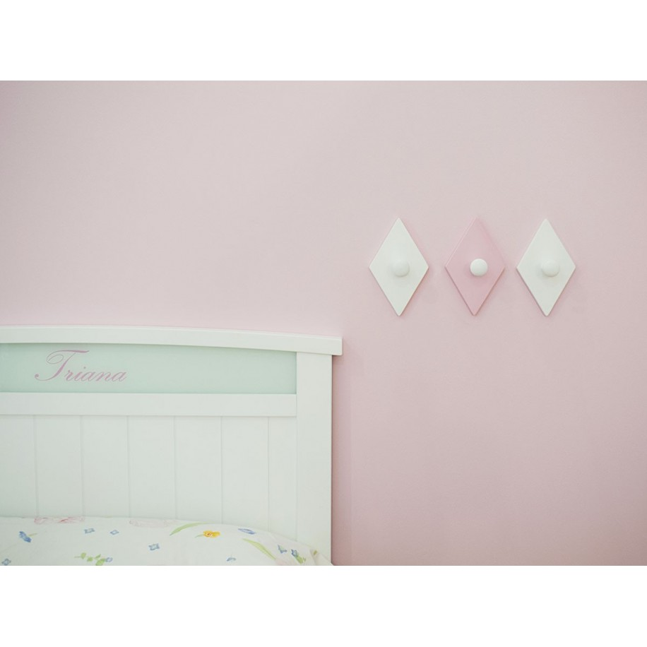 Perchas de pared infantil Rombo