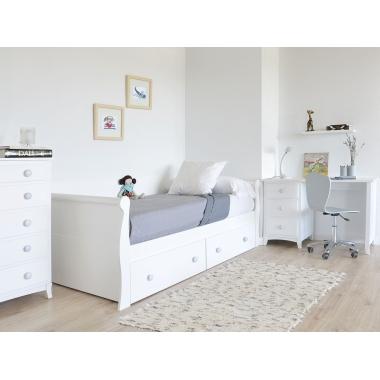 Dormitorio juvenil Gondola con cajones