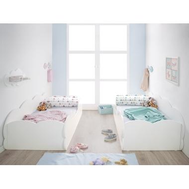 Habitación infantil doble Montessori Nube