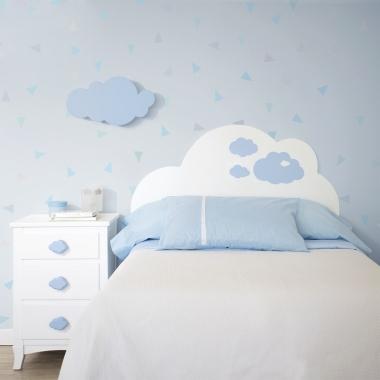 Cabecero infantil Nubes