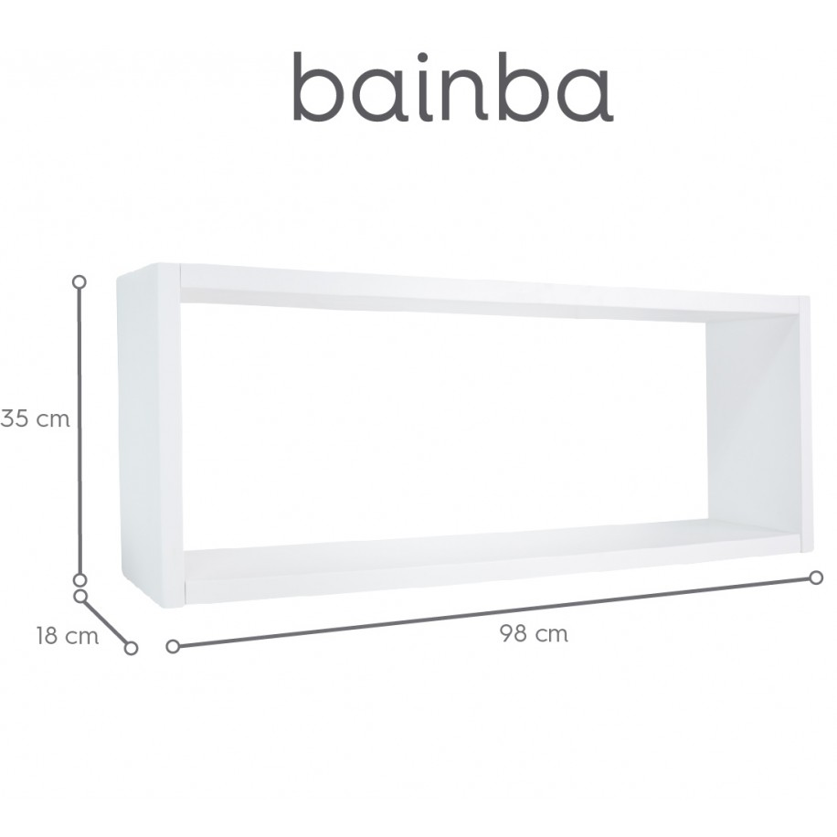 Estante de pared Cubo
