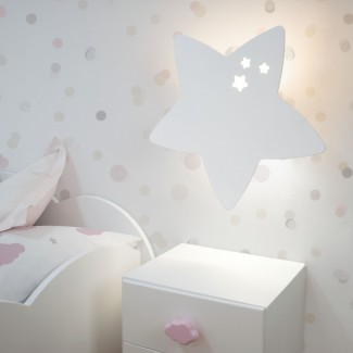 Lámpara de pared infantil Star