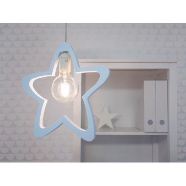 Lámpara colgante infantil Estrella
