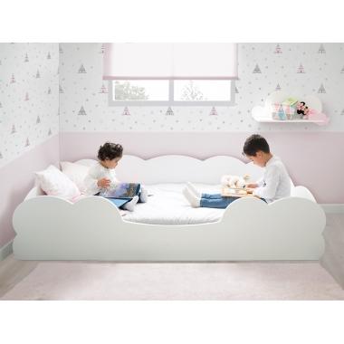 Cama para niños Montessori Nube