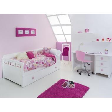 Dormitorio infantil Nido Corazones II