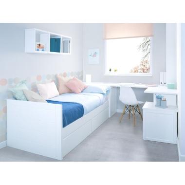 Dormitorio juvenil Lineal espacio reducido