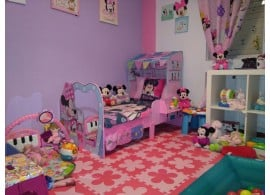 Cama infantil Casita Minnie Mouse Disney