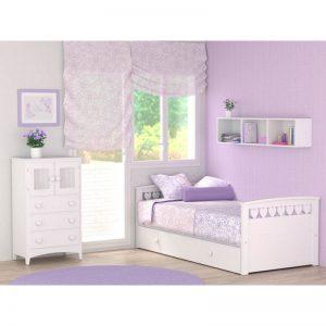Mejores camas blancas para niñas