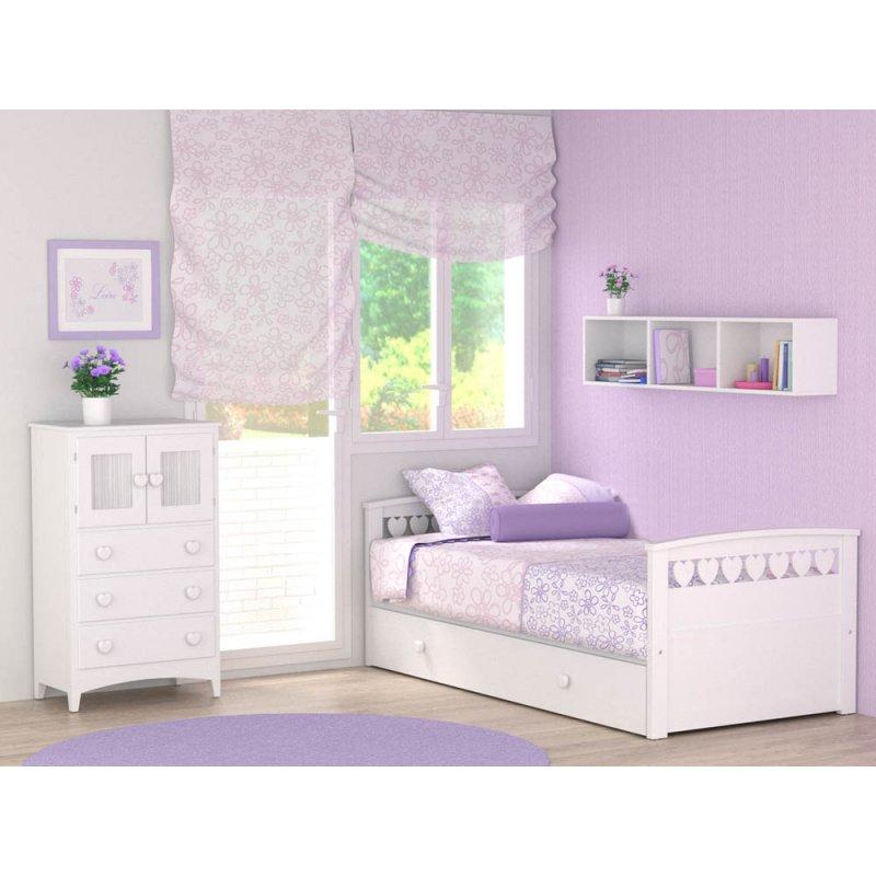 Mejores camas blancas para ni as bainba blog - Camas infantiles blancas ...