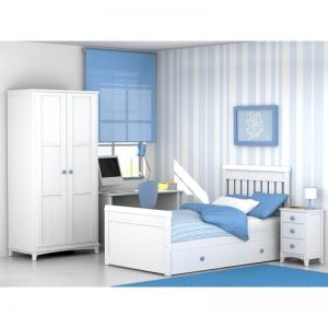 Dormitorio infantil Altea Cama nido