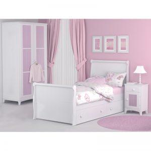 Dormitorio infantil Diana cama con cajones