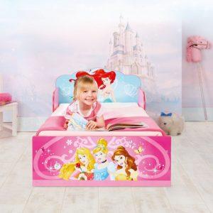 Cama para niñas princesas disney