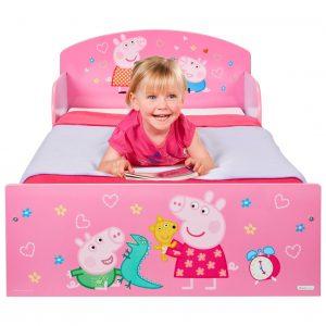 Cama para niñas Peppa Pig