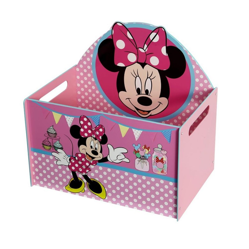 Baúl organizador infantil Minnie Mouse Disney