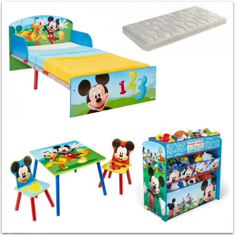 Dormitorio Infantil Mickey Mouse