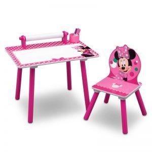 Mesa escritorio infantil Minnie Mouse