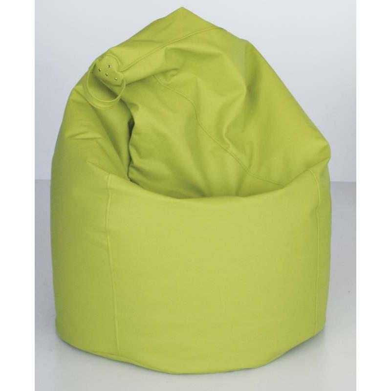 Puff pera XL verde