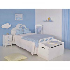 Dormitorio infantil Nubes