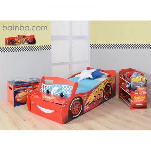 Habitación para niños Coche Cars Disney con Luz