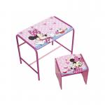 Mesa + taburete Minnie Mouse