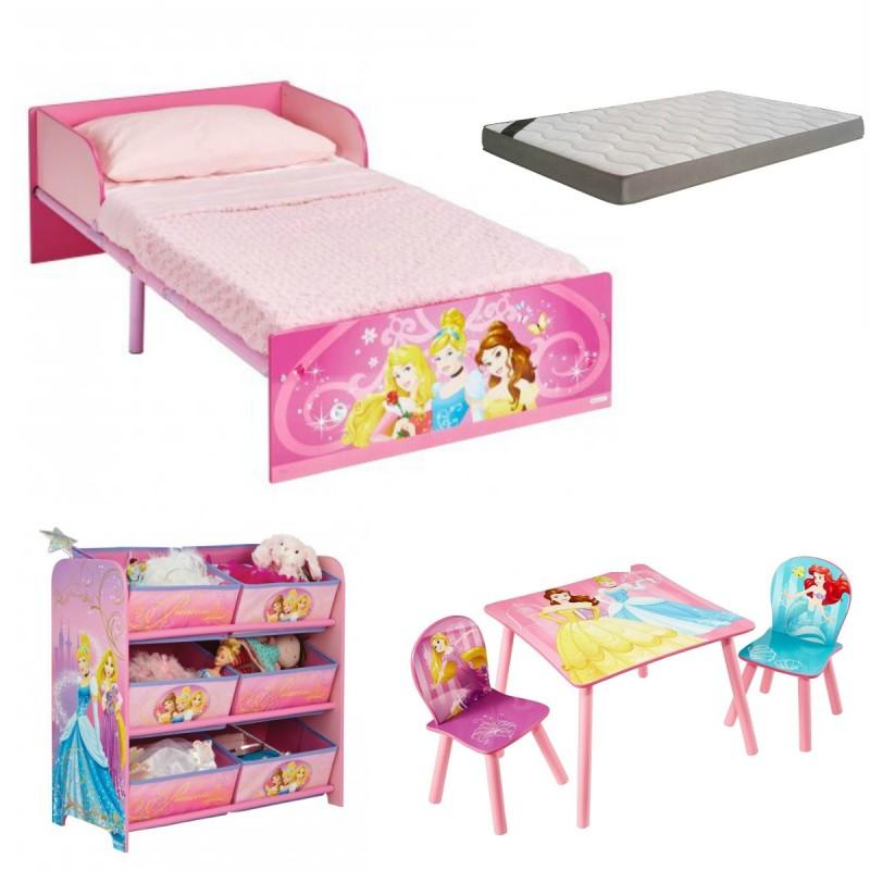 Habitación infantil Princesas Disney