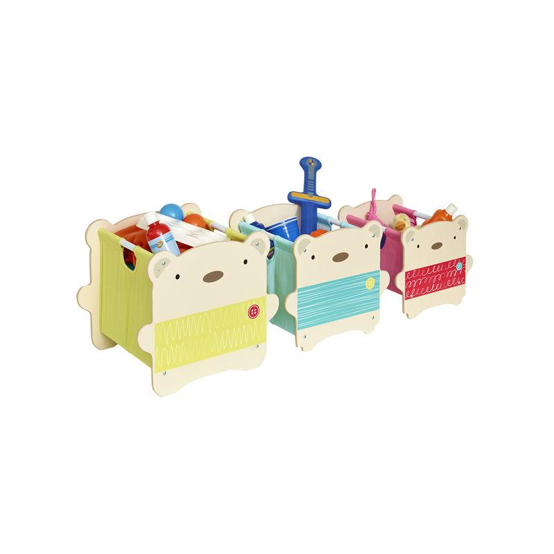 Organizador de juguetes ositos