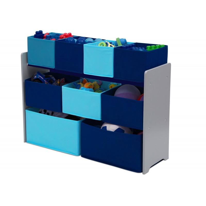 Organizador de juguetes azul