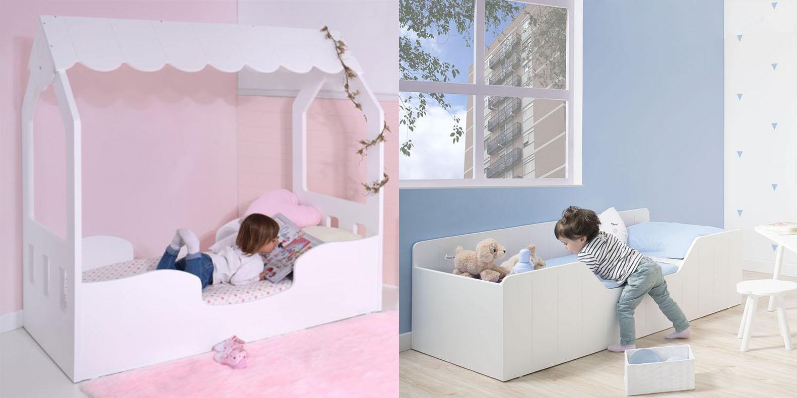 Camas Montessori Bainba para niñas