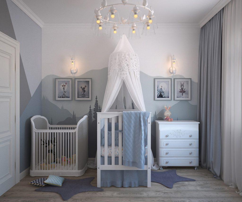 Ideas para pintar las habitaciones infantiles bainba blog - Colores para habitaciones de bebe ...