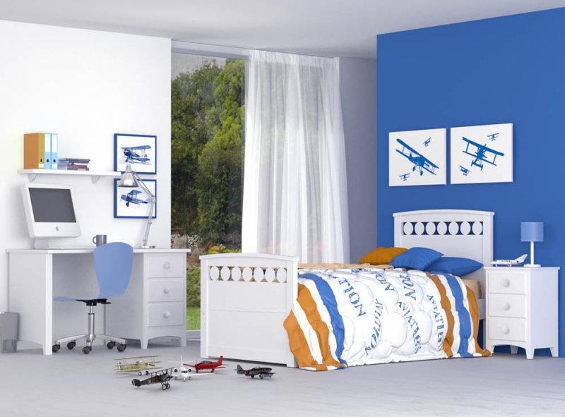 ideas de dormitorio verde chicos Ideas Para Pintar Las Habitaciones Infantiles Bainba Blog